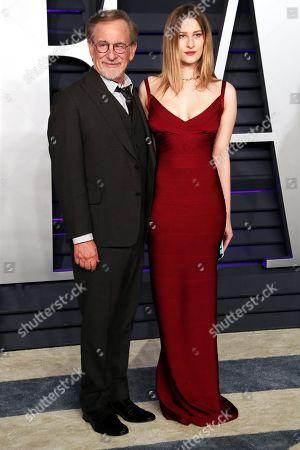 Steven Spielberg and Destry Allyn Spielberg