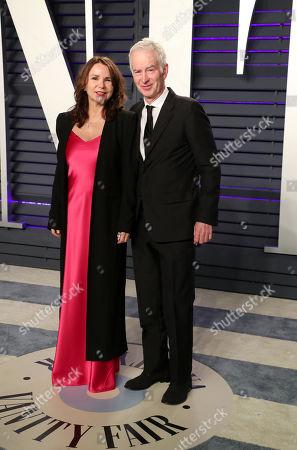 Patty Smyth and John McEnroe