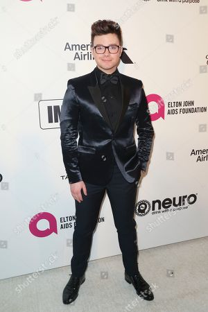 Editorial photo of Elton John AIDS Foundation Academy Awards Viewing Party, Los Angeles, USA - 24 Feb 2019