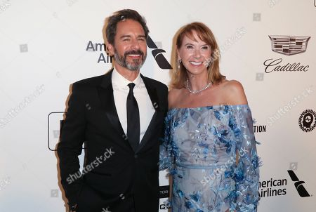 Stock Photo of Eric McCormack and Janet Holden