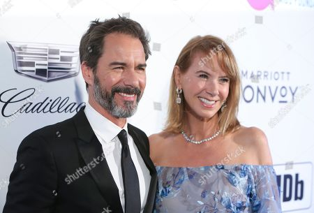 Stock Picture of Eric McCormack and Janet Holden
