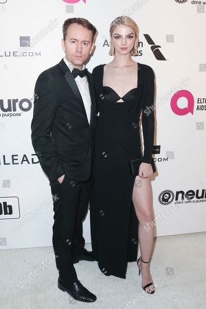 Stock Picture of Tyler Shields and Allie Evans