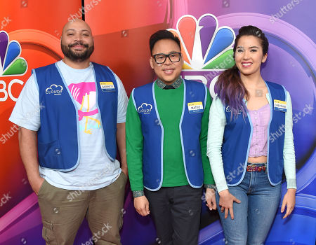 Colton Dunn, Nico Santos and Nichole Bloom