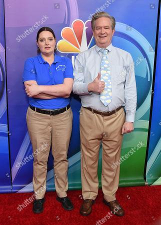 Lauren Ash and Mark McKinney