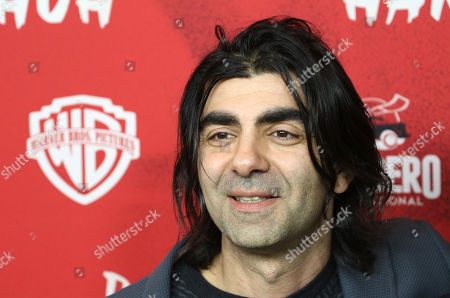 Fatih Akin poses on the red carpet during the premiere of the move 'The Golden Glove' (Der Goldene Handschuh) in Hamburg, northern Germany, 20 February 2019. The film tells the story of ripper Fritz Honka who lived in Hamburg.