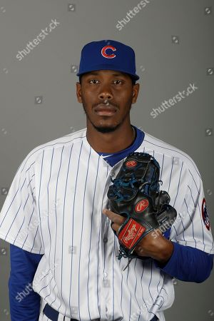 C64#2. This is a 2019 photo of Carlos Ramirez of the Chicago Cubs baseball team. This image reflects the 2019 active roster as of, when this image was taken