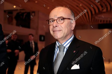 Former French Prime Minister Bernard Cazeneuve arrives for the 34th annual dinner of the Representative Council of Jewish Institutions of France (CRIF - Conseil Representatif des Institutions juives de France) in Paris, France, 20 February 2019.