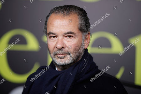 Moncler Chairman and CEO Remo Ruffini poses during the presentation of the Moncler women's Fall-Winter 2019-2020 fashion collection, that was presented in Milan, Italy, Wednesday, Feb.20, 2019
