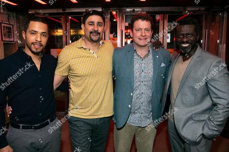Ukweli Roach (Angel Cruz), Joplin Sibtain (Valdez), Matthew Douglas (D'Amico) and Oberon K A Adjepong (Lucius Jenkins)