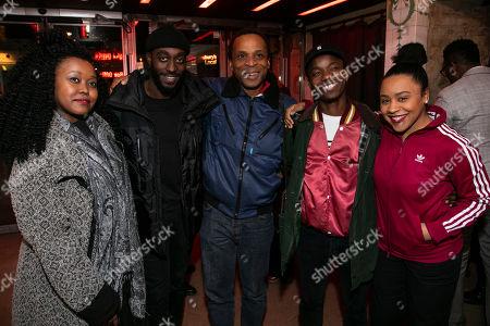 Luyanda Unati Lewis-Nyawo, Ivanno Jeremiah, Jude Akuwidike, Rudolphe Mdlongwa and Ola Ince