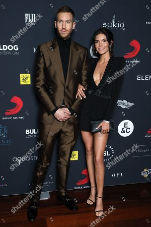 Calvin Harris and Aarika Wolf