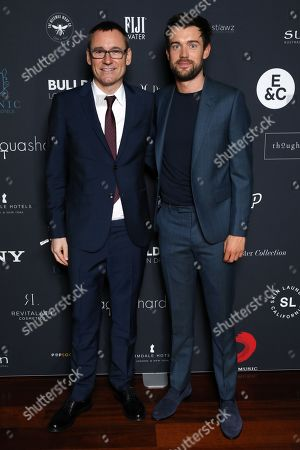Editorial image of 39th Brit Awards, Sony Music After Party, Aqua Shard, London, UK - 20 Feb 2019