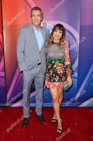 Neil Flynn and Natalie Morales