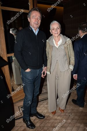 Michel Denisot and sa femme Martine