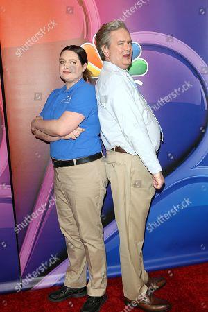 Lauren Ash, Mark McKinney arrive for the NBC Universal Mid Season Press Day at Universal City, California, USA 20 February 2019.