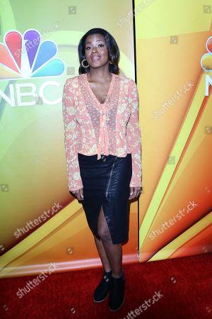 Cassandra Freeman arrives for the NBC Universal Mid Season Press Day at Universal City, California, USA 20 February 2019.