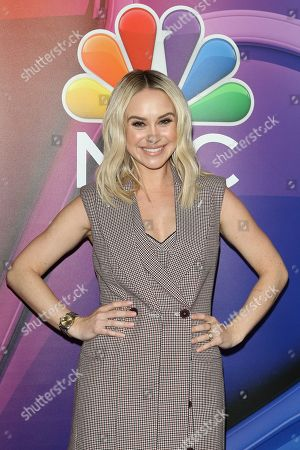 Becca Tobin arrives for the NBC Universal Mid Season Press Day at Universal City, California, USA 20 February 2019.