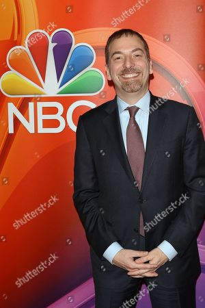 US journalist Chuck Todd arrives for the NBC Universal Mid Season Press Day at Universal City, California, USA 20 February 2019.
