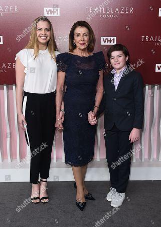 Madeleine Prowda, Nancy Pelosi and Thomas Vos