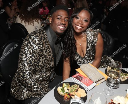 Stock Picture of Jason Thomas and Antoinette Harris