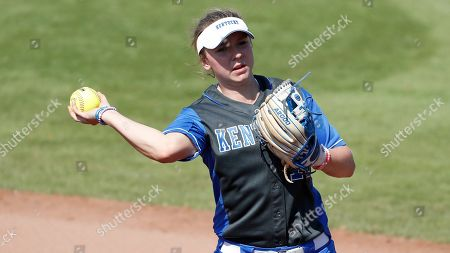 James Madison vs Kentucky Softball. University of Kentucky infielder Olivia Ward #10 during an NCAA softball game on in Clearwater, Fla