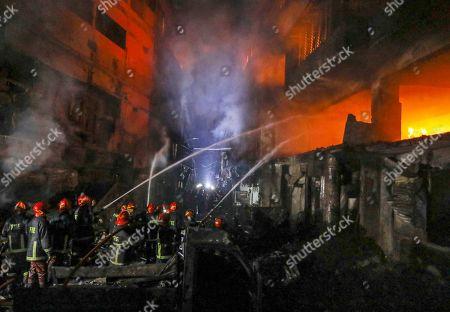 Apartment building fire, Dhaka