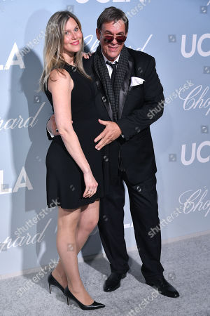 Stock Picture of Christine Bolster and Robert Davi