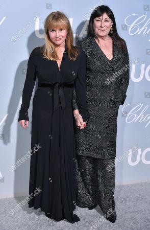 Stock Photo of Rebecca De Mornay and Anjelica Huston