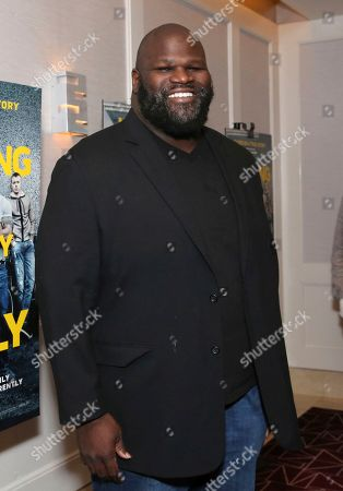 """Stock Image of Mark Henry seen at the Metro Goldwyn Mayer Pictures' """"Fighting with My Family"""" Los Angeles Tastemaker Screening at The London Hotel, in West Hollywood, Calif"""