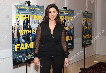"""Stock Picture of Cristina Rosato seen at the Metro Goldwyn Mayer Pictures' """"Fighting with My Family"""" Los Angeles Tastemaker Screening at The London Hotel, in West Hollywood, Calif"""