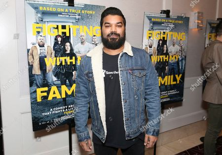 """Adrian Dev seen at the Metro Goldwyn Mayer Pictures' """"Fighting with My Family"""" Los Angeles Tastemaker Screening at The London Hotel, in West Hollywood, Calif"""