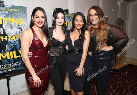 """Editorial image of Metro Goldwyn Mayer Pictures Presents """"Fighting with My Family"""" Los Angeles Tastemaker Screening, West Hollywood, USA - 20 Feb 2019"""