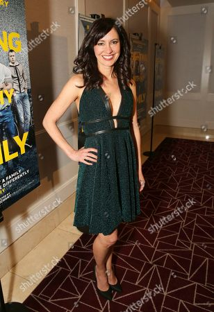 """Charlene Amoia seen at the Metro Goldwyn Mayer Pictures' """"Fighting with My Family"""" Los Angeles Tastemaker Screening at The London Hotel, in West Hollywood, Calif"""