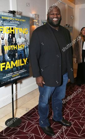 """Stock Picture of Mark Henry seen at the Metro Goldwyn Mayer Pictures' """"Fighting with My Family"""" Los Angeles Tastemaker Screening at The London Hotel, in West Hollywood, Calif"""
