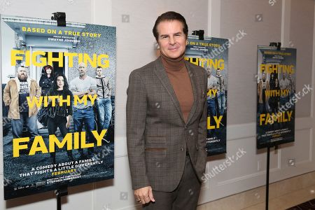 """Vincent De Paul seen at the Metro Goldwyn Mayer Pictures' """"Fighting with My Family"""" Los Angeles Tastemaker Screening at The London Hotel, in West Hollywood, Calif"""