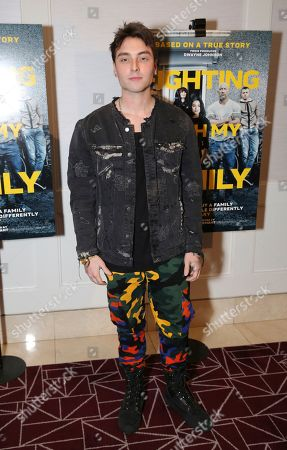 "Wesley Stromberg seen at the Metro Goldwyn Mayer Pictures' ""Fighting with My Family"" Los Angeles Tastemaker Screening at The London Hotel, in West Hollywood, Calif"