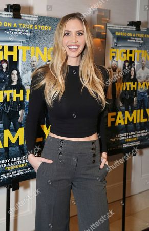 "Editorial picture of Metro Goldwyn Mayer Pictures Presents ""Fighting with My Family"" Los Angeles Tastemaker Screening, West Hollywood, USA - 20 Feb 2019"