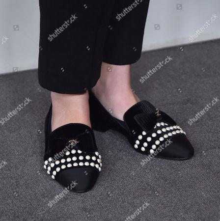 Elle King, shoe detail