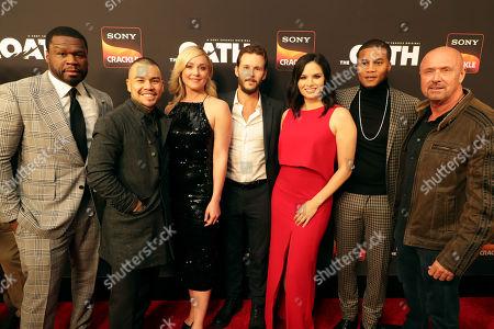 50 Cent, Executive Producer, Joseph Julian Soria, Elisabeth Rohm, Ryan Kwanten, Producer/Actor, Katrina Law, Cory Hardrict, Joe Halpin, Creator/Writer/Executive Producer,