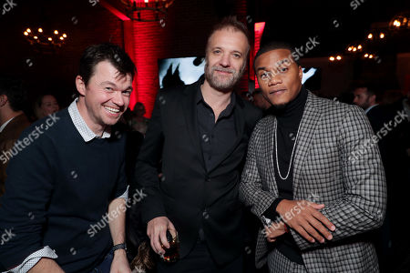 Scott Mann, Jeff T. Thomas, Director/Executive Producer, Cory Hardrict