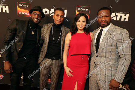 Stock Image of Guest, Cory Hardrict, Katrina Law, 50 Cent, Executive Producer,