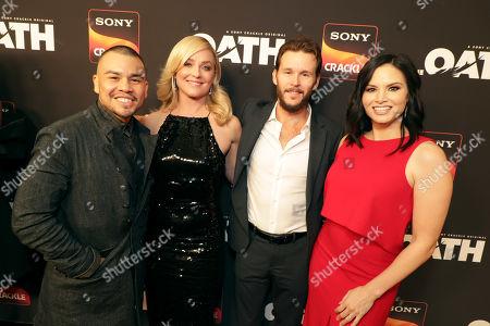 Joseph Julian Soria, Elisabeth Rohm, Ryan Kwanten, Producer/Actor, Katrina Law