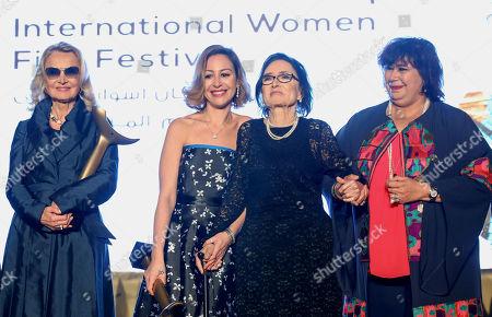 Editorial picture of Opening of third Aswan International Women Film Festival, Egypt - 20 Feb 2019