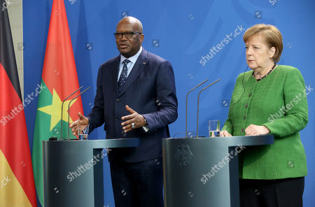 President of Burkina Faso, Roch Marc Christian Kabore, visit to Berlin