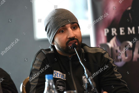 Paul Malignaggi during a Press Conference at Intercontinental at The O2 on 21st February 2019