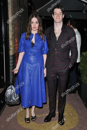 Aimee Lee Wood and Connor Swindells