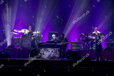 Editorial photo of Steely Dan in concert at The SSE Hydro Glasgow, Scotland, UK - 20 Feb 2019