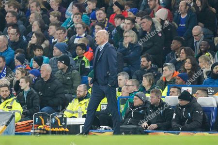 Malmo manager Uwe Rosler during the Europa League match between Chelsea and Malmo FF at Stamford Bridge, London