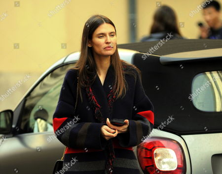 Editorial photo of Bianca Balti out and about, Milan, Italy - 21 Feb 2019