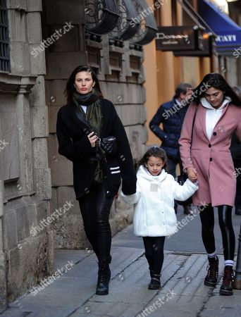 Editorial image of Dayane Mello out and about, Milan, Italy - 21 Feb 2019